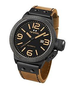 TW Steel Canteen Leather - Reloj de pulsera de TW Steel