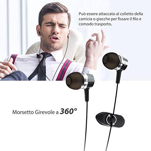 2 pezzi   Auricolari Mpow Auricolari Cuffie In-Ear Stereo Universale ... 41a23a7c9f9d