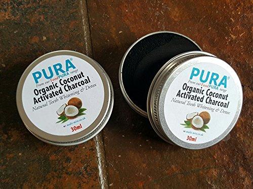 purar-30ml-2-x-fine-coconut-activated-charcoal-powder-organic-teeth-whitening-detox