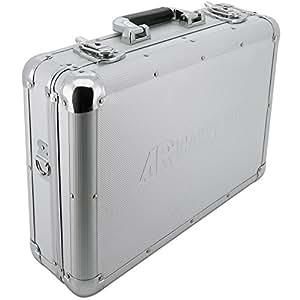 ar carry box alukoffer werkzeugkoffer aluminium koffer leer lxbxh 430x330x140mm farbe alu. Black Bedroom Furniture Sets. Home Design Ideas