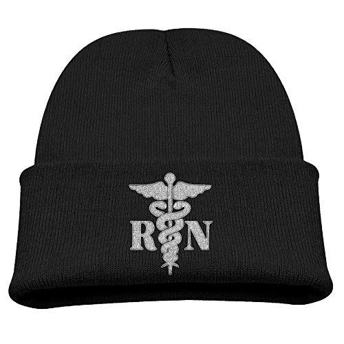 ASKYE RN Nurse Kids Beanie Baby Knit Toddler Winter Hat (Beanie Lakers)