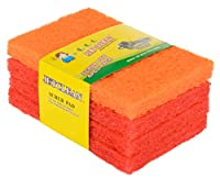 Jet Clean Scrub Pads, Pack of 4 (Orange)