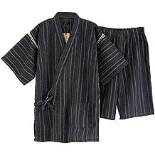 Traje de Pijama Kimono de Estilo japonés para Hombres ...