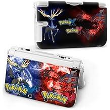 Cartoon Pikachu Pokemon World X Y Hard Protective Case Cover For Nintendo 3DS XL [Importación Inglesa]