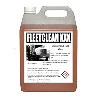 Concrete & Plant degreaser TRIPLE XXX (Industrial chemical to remove oil, grease) 2L