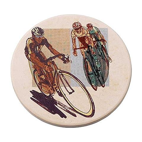 On Yer Bike Dessous-de-verre Vélo de route Multicolore