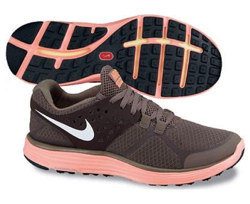Nike Nike Lunarswift + Wmns Chaussures de course SMK/ WHITE-VLVT BRWN-BRGHT MNG