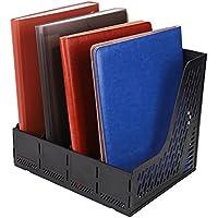 Expositor de carpeta de plástico – Revistero (con 4 compartimentos ligero cesta de carpeta módulo