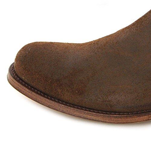 Sendra Boots Stiefel 5595 Rovere / Damen und Herren Chelsea Boots Braun / Stiefelette Rovere