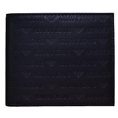 armani-jeans-uomo-portafoglio-in-pelle-logo-nero-unica-taglia