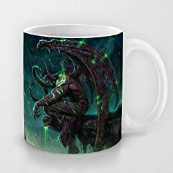 XOX-T Popular Gift Choice - White 11 oz Classic White Ceramic Mugs Cutom Design with World Of Warcraft(11) Coffee Mugs/Tea Mugs/Drink Cups - Dishwasher and Microwave Safe Color 29