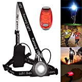 TriLance Outdoor Sports Fotografie Brust Running Light, Nacht Running Lauflicht, Nacht Sports Lauflicht 3 Beleuchtungsmodi Br