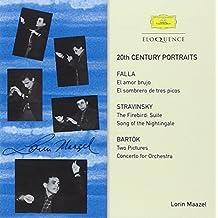 20th Century Portraits: Falla, Bartok, Stravinsky