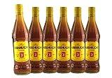 Ron AREHUCAS Carta Oro, kanarischer Rum, 37,5% vol. , 6er Sparpack 6 x 700 ml