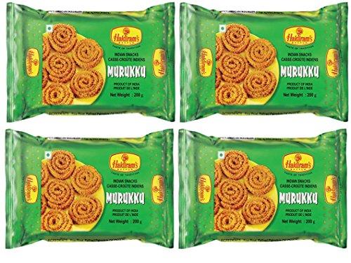 Haldiram's Nagpur Murukku – 4 X 200Gm (Pack Of 4)