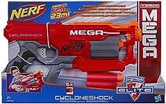 Idea Regalo - Hasbro Nerf - Mega Blaster Cyclone, Grey, Orange, Red, A9353EU4