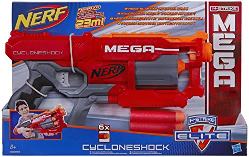 Nerf A9353EU40 - Elite - Mega Cycloneshock - Jeu de Tir