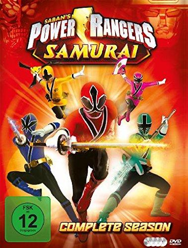 Power Rangers - Samurai (Die komplette Serie) [4 DVDs] (Power Rangers Dvds)