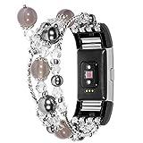 Fitbit Charge 2 Ersatz Armbänd, Watch Strap Band Uhrenarmband für Fitbit Charge 2 (Schwarz)