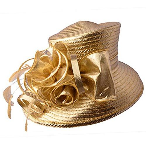 Eden hats - Panama - Femme Taille Unique Doré