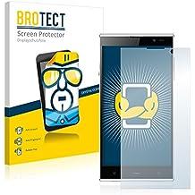 2x BROTECT HD-Clear Protector Pantalla iNew V3 Plus Película Protectora – Transparente, Anti-Huellas