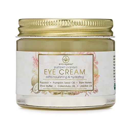 Rejuvenating Eye Cream (2oz.) Extra Nourishing & Moisturizing USDA Organic Anti Aging Eye Treatment Balm for Dark Circles, Under Eye Bags, Puffiness & Wrinkles with Jojoba Oil, Argan Oil & More - Rejuvenating Balm