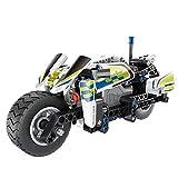 Hanbaili Motorrad Spielzeug für Jungen zusammengebaute Fahrzeuge 193 Stück Bausteine Play Tools - Multicolor