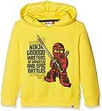 Lego Wear Jungen Lego Boy Ninjago Sebastian 104-Sweatshirt, Gelb (Yellow 233), 128