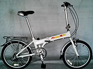 Urban Lite 2 Magnesium Alloy Folding Bike Baby Silver - only 10.5KG