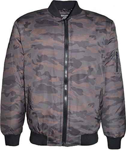 SoulStar Herren Jacke schwarz schwarz XL Grün