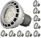 10er Packung I-Lumen® LED GU10 6W Aluminium Spot Strahler 230V warmweiss - 441