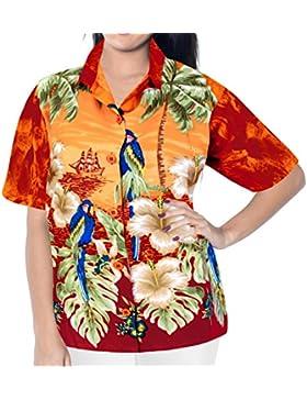 beachwear collare camicetta su