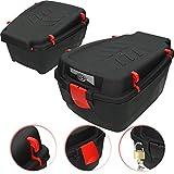XL Fahrradkoffer 15 L schwarz Fahrradbox Topcase Gepäckträger Box Fahrrad Case