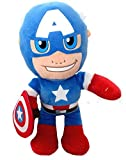 Peluche morbido di Captain America Super Hero Squad, 30 cm