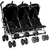 Kidz Kargo Triple buggies Triple buggy Triple pushchair for 3 toddlers or 3 babies.