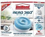 UniBond 1807921 Aero-360 Moisture Absorber Refills Pack of 2 (4x 450g tabs)