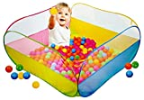 #9: Magicwand® Large Size Square My Ball Pool with 50 Free Balls