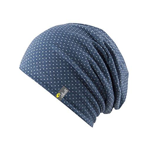 CHILLOUTS, Cappello lungo Unisex Adulti Florence Hat, Blu (Blue/White), Taglia unica