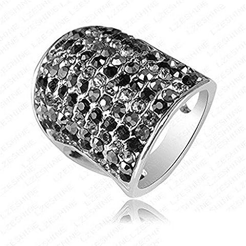 Alimab Gioielli unisex Donne anelli uomini anelli fidanzamento amore anelli