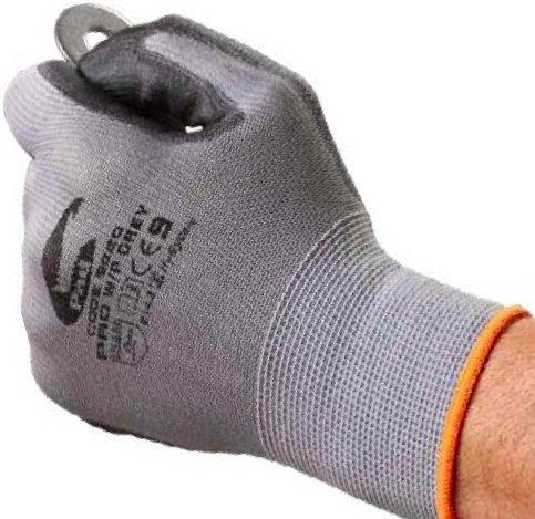 Easy Off Gloves Graue Touchscreen Arbeitshandschuhe - Nutzen Sie Ihr Mobiltelefon