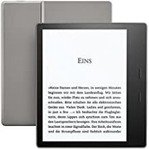 Kindle Oasis eReader - Grafit, wasserfest, hochauflösendes 7 Zoll-Display (300 ppi), integriertes Audible, 8 GB, WLAN
