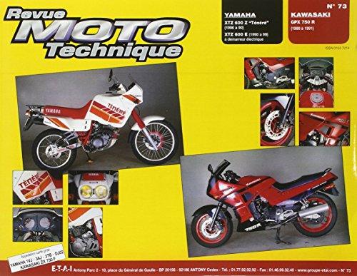 revue-moto-technique-n73-yamaha-xtz-600z-et-kawasaki-gpz-750r