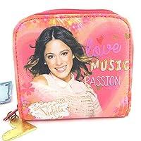 Wallet zipped 'Violetta'pink.