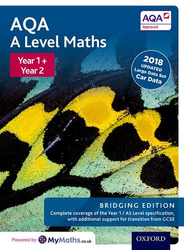 AQA A Level Maths: Bridging Edition: Year 1 and 2 Combined Student Book