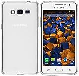 mumbi Schutzhülle für Samsung Galaxy Grand Prime Hülle transparent weiss