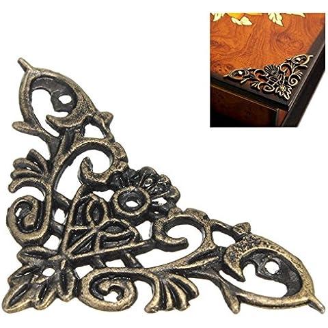 Yongse 12pcs decorativi gioielleria Confezione regalo Cornice d'angolo proteggi