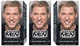 Just For Men Pflege-Tönungs Shampoo Natur Sandy Blond Haarfärbemittel x3