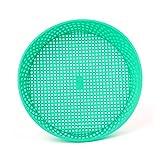 planuuik Setaccio da Giardino in plastica Verde per utensile da Giardinaggio in Pietra composita per Terreno