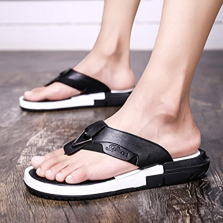 @Sandals Sommer flip flops Charakter Strand Strände  Mode für Männer Hausschuhe  Hausschuhe  Hausschuhe  weisshen