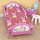 Peppa Pig Junior Cot Duvet Bed Set